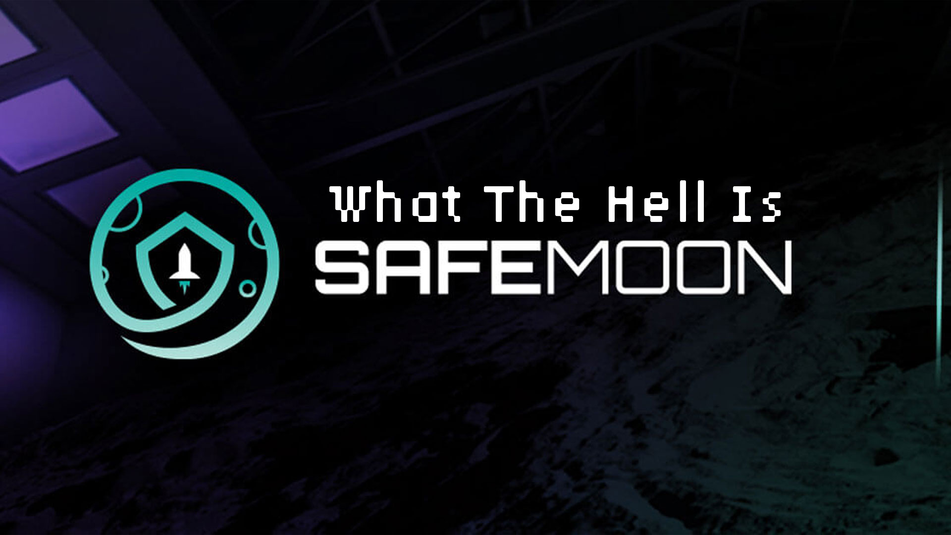What is safemoon crypto banner for blog post.